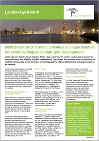 s650 smart grid terminal case study