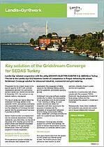 Key solution of the Gridstream Converge for SEDAS Turkey