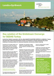Key Solution of the Gridstream Converge for SEDAS Turkey