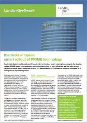 Iberdrola in Spain: Smart Rollout of PRIME Technology