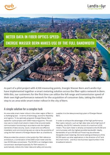 Energie Wasser Bern