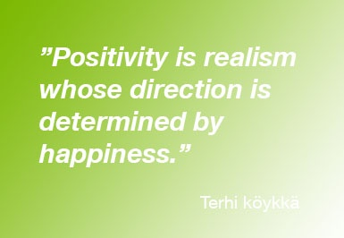 Positivity is realism