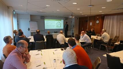Landis+Gyr's presentation in Customer Seminar in Sweden