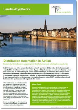 Case Study - Enexis: Distribution Automation in Action