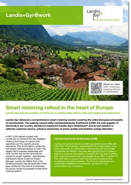Case Study: Smart metering rollout in the heart of Europe