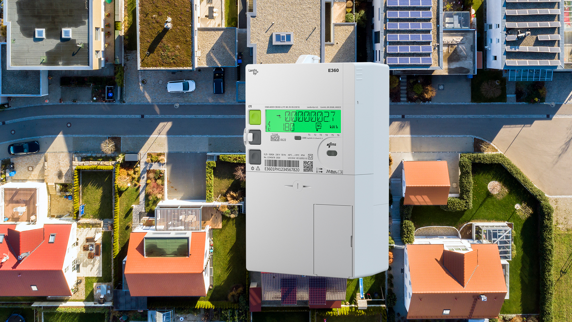 The E360 is a smart residential meter for the IoT world of today and tomorrow