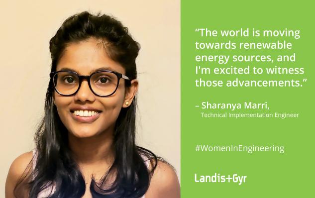 Our Green Team:Sharanya Marri, Technical Implementation Engineer