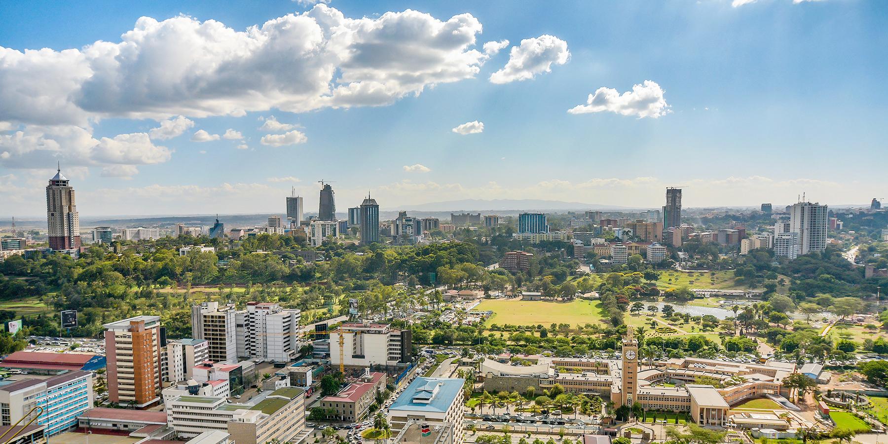 För en smartare stad: visionärt stadsutvecklingsprojekt utanför Nairobi