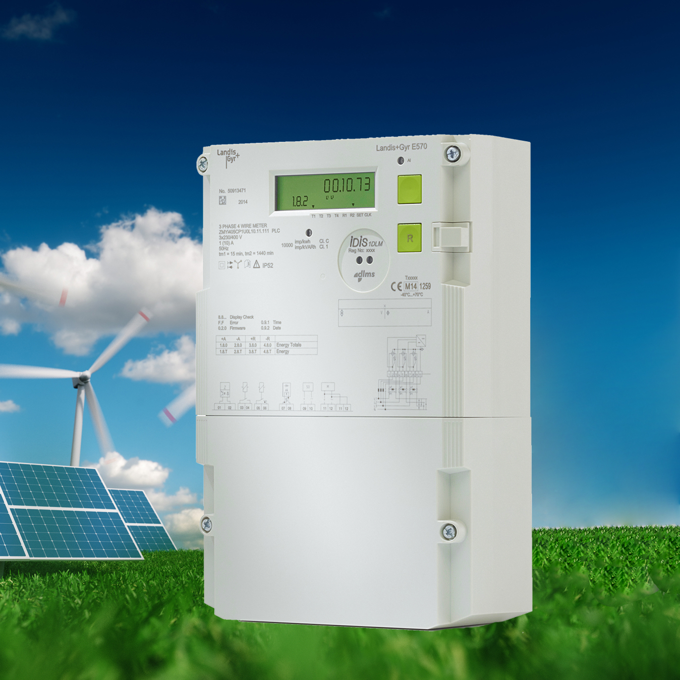 E570: Our New Smart Commercial Electricity Meter Explained in Two Minutes